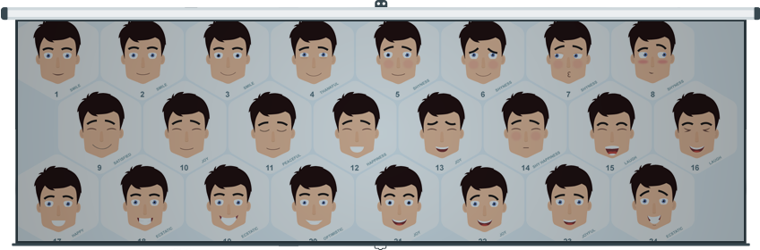 Character Facial Emotions for After Effects